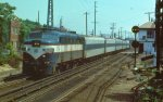 LI 608 on WB Ronkonkoma train